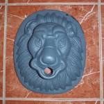 Маскарон чугунный «Лев»
